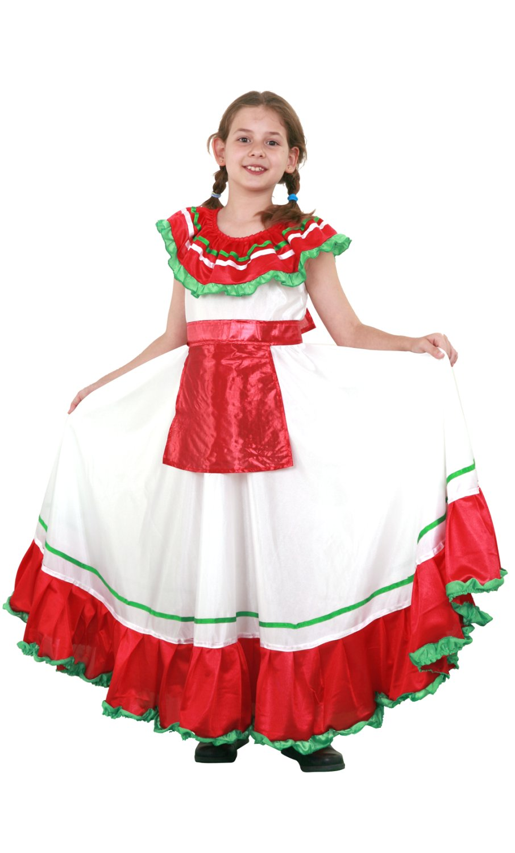Bien connu Costume mexicaine fille-v59323 LI59