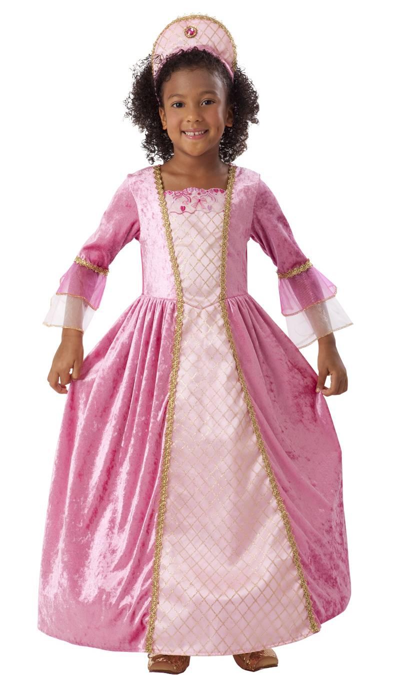Robe-de-princesse-rose-D14