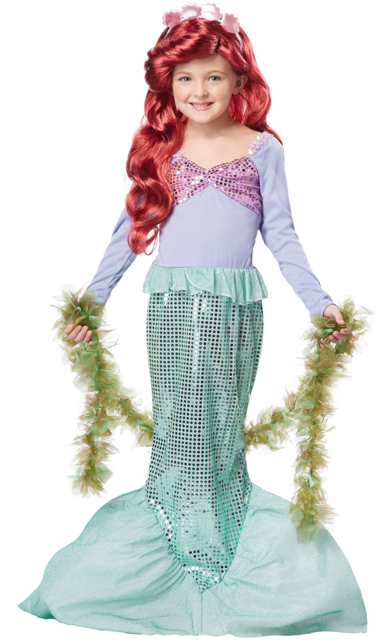 Costume-de-sirène-fille-taille-large