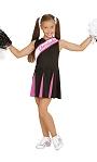 Costume-de-Pompom-Girl-noire-et-rose
