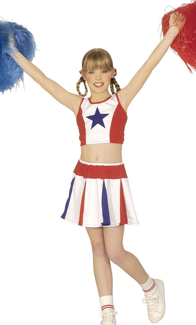 Costume-Pom-pom-Girl-Fille