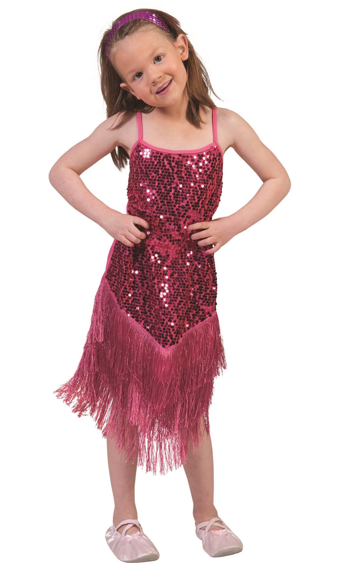 Costume-Charleston-rose-fille