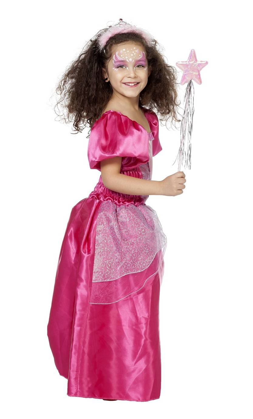 Robe-de-princesse-rose-2