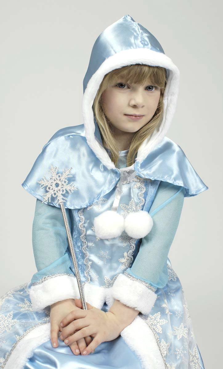 Costume reine neiges fille v59386 - Robe reine de neige ...