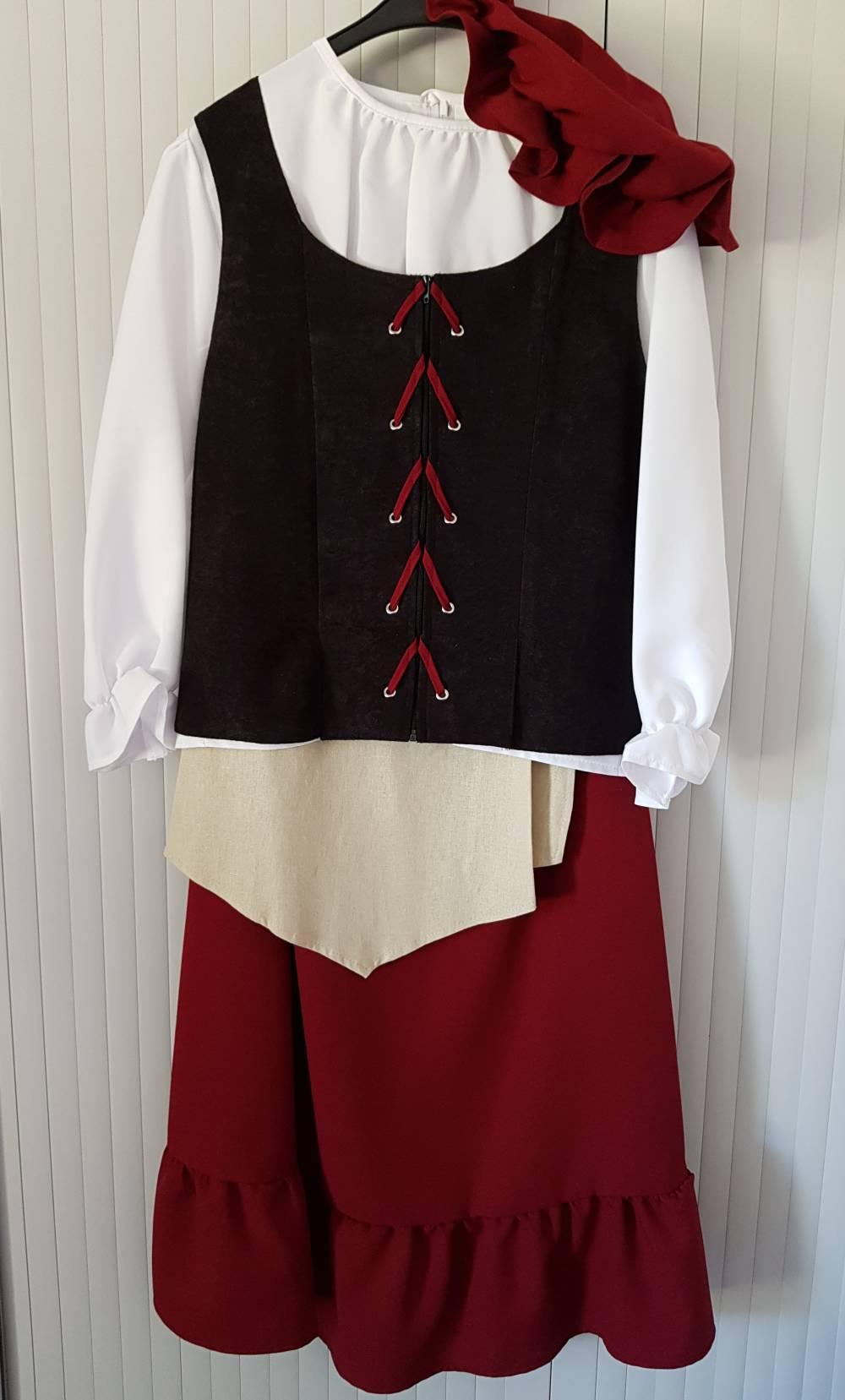 Costume-Médiéval-Fille-3