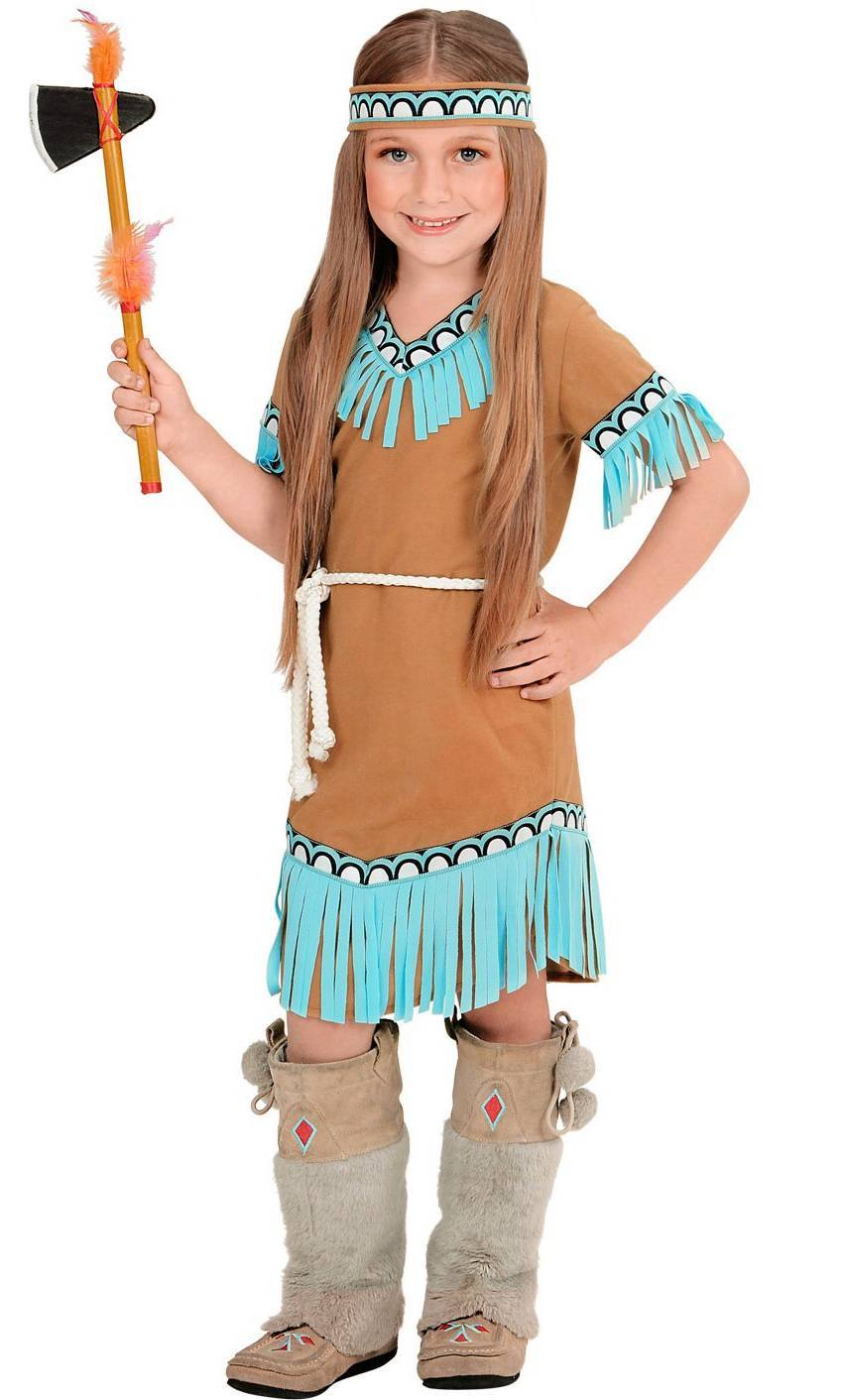 Costume indienne fille