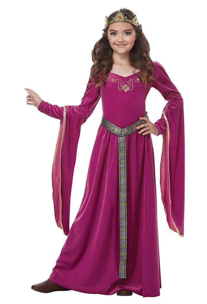 Robe-médiévale-pour-petite-fille