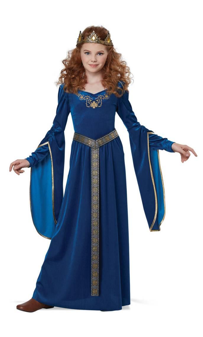 Costume-médiéval-petite-fille
