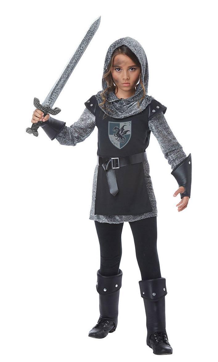 Costume de chevalier pour fille