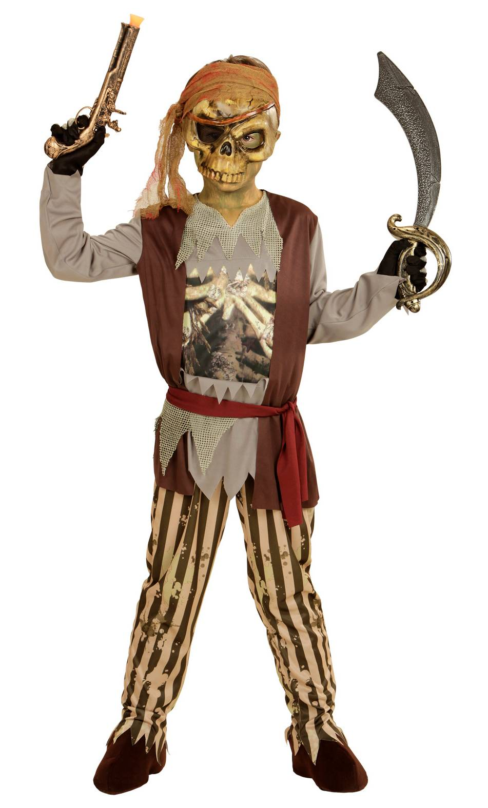 Costume de pirate fant me v68046 - Pirate fantome ...