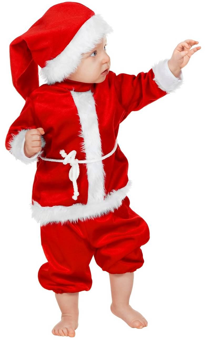 Costume-Père-Noël-Bébé-2