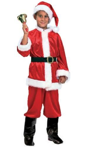 Costume-Père-Noël-enfant-Petit-Noël