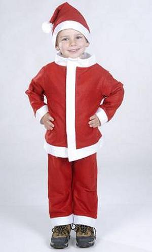 Costume-Père-Noël-enfant-pas-cher