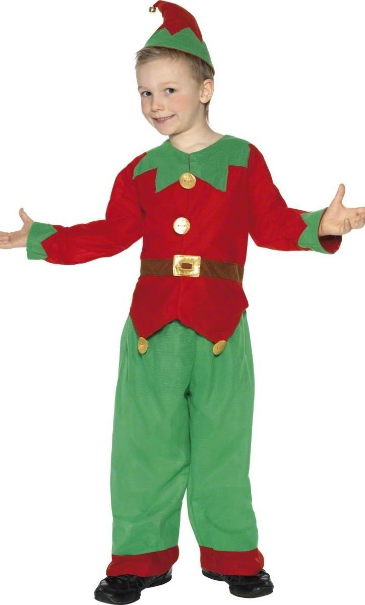 Déguisement-Lutin-Noël-Enfant