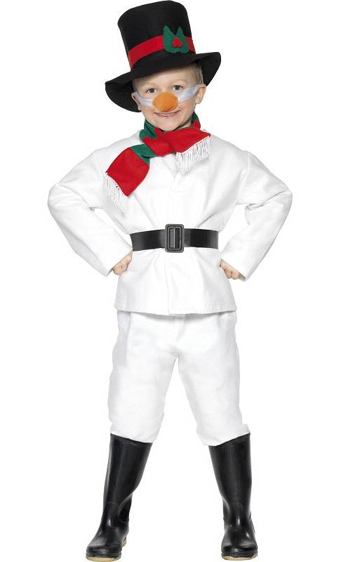Costume-Bonhomme-de-neige