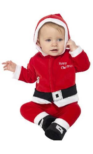 Costume-Bébé-Père-Noël