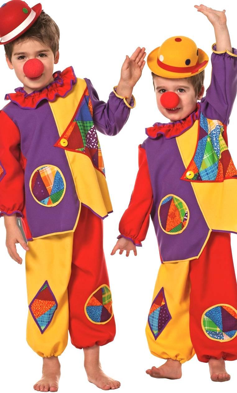 Costume-Clown-enfant-bébé