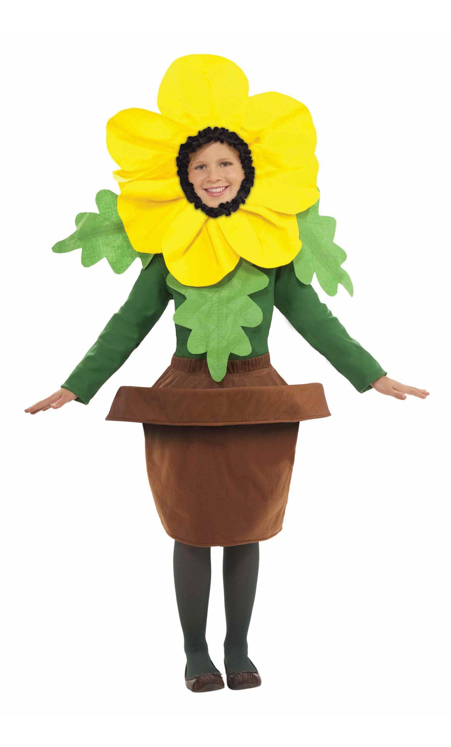 Costume-Fleur-Jaune-en-pot