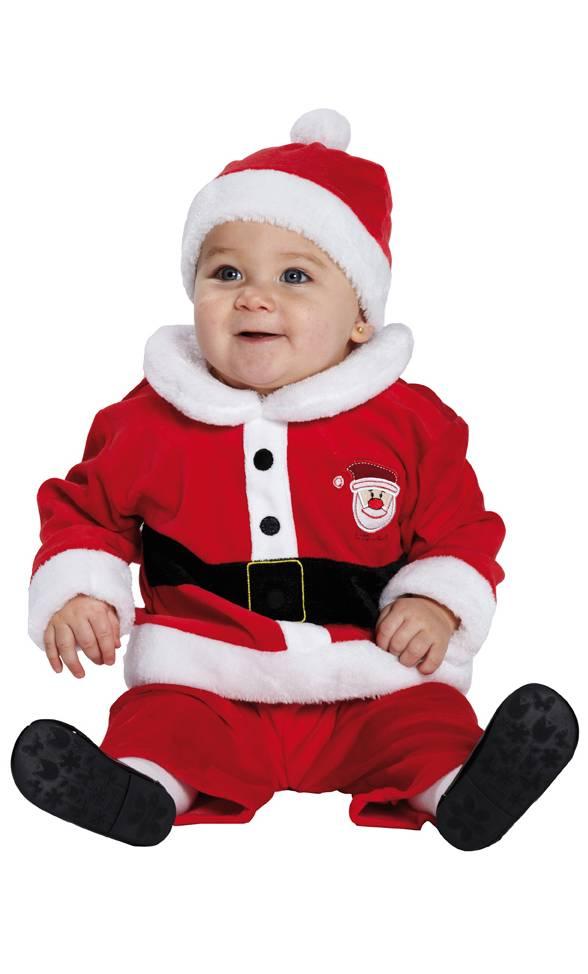 Costume-Père-Noël-Bébé