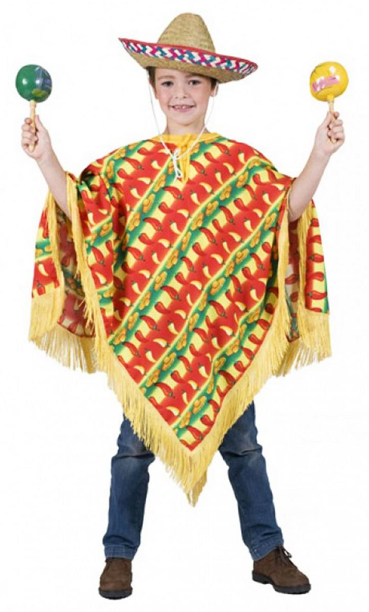 Poncho-Mexicain-Enfant