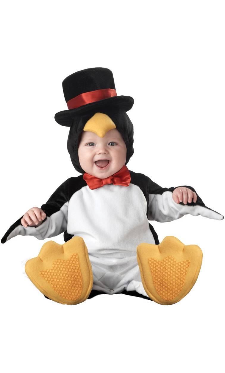 Costume-pour-bébé-12-mois-Pingouin