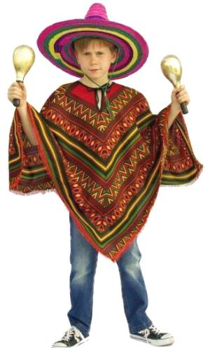 Poncho-Mexicain
