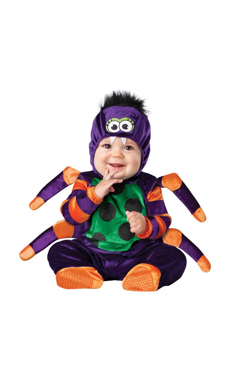 Déguisement-pour-bébé-6-mois-Araignée