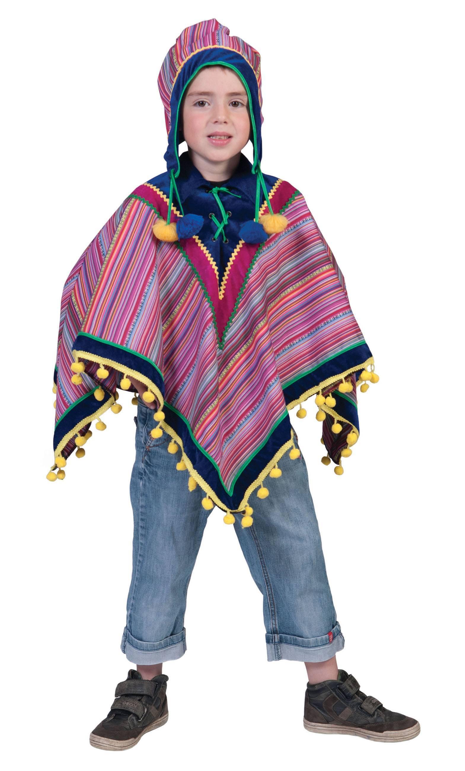 Poncho-Pérou-Enfant