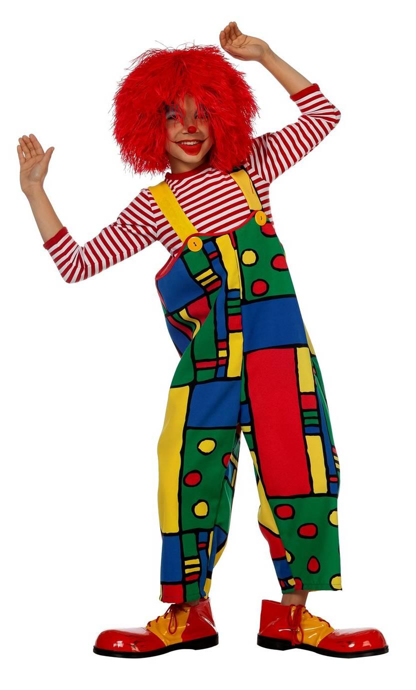 Clown-Enfant-salopette
