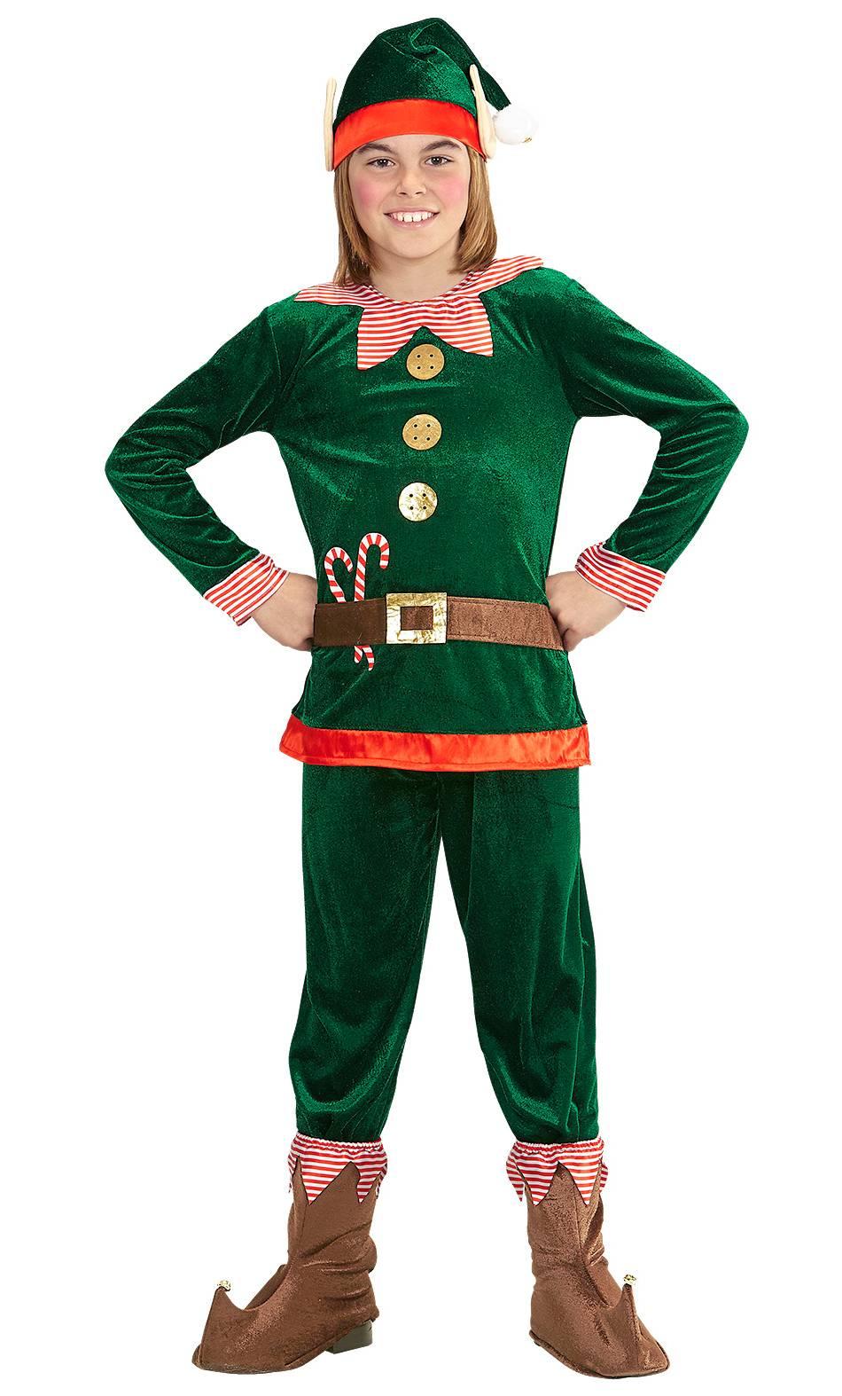 Costume-de-lutin-de-Noël-pour-enfant