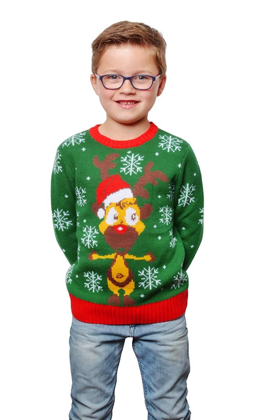 Pull-Noël-kitsch-pour-enfant
