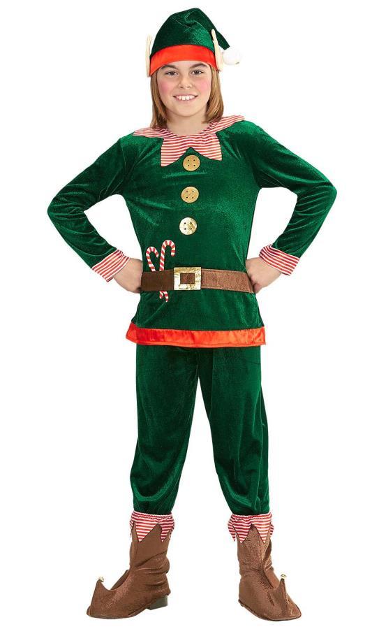 Costume-de-lutin-de-Noël-enfant-pas-cher