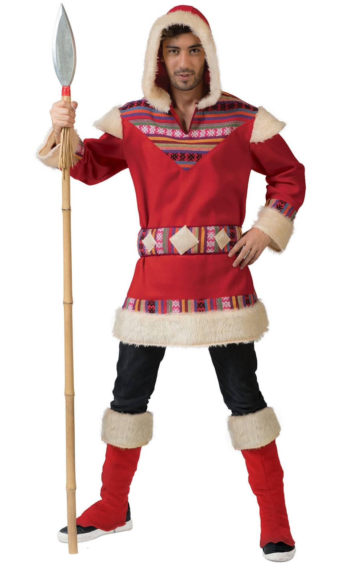 Costume-esquimau-pour-homme-Grande-Taille