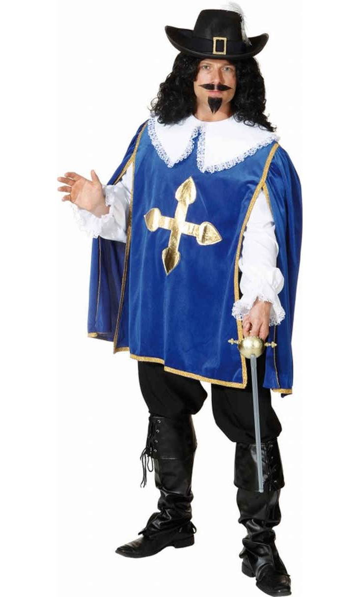 Costume-Mousquetaire-Bleu-Grande-Taille