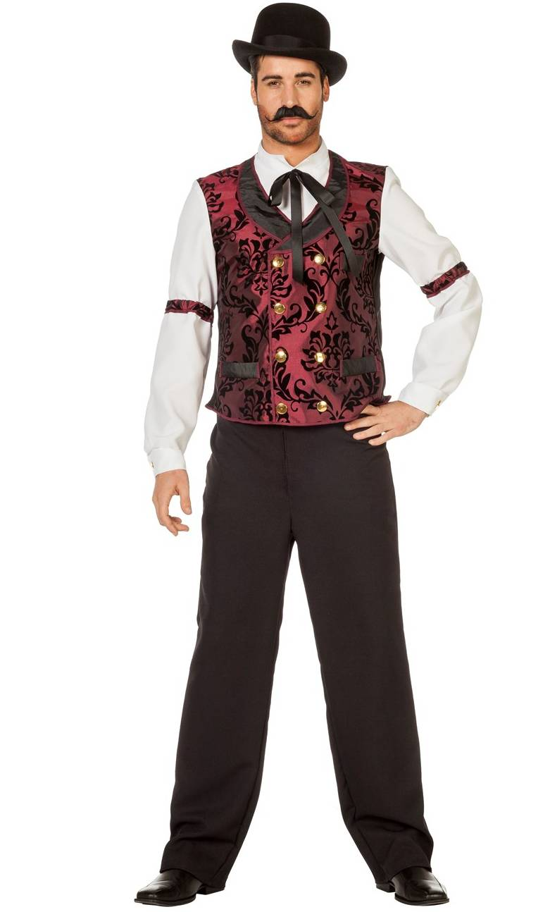 Costume saloon homme grande taille w10048 - Costume original homme ...