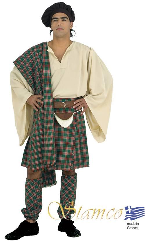 Costume-Ecossais-vert