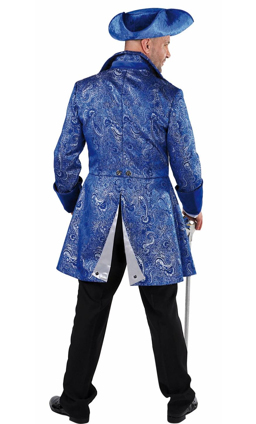 Costume-Marquis-Bleu-Homme-Grande-Taille-XL-XXL-2