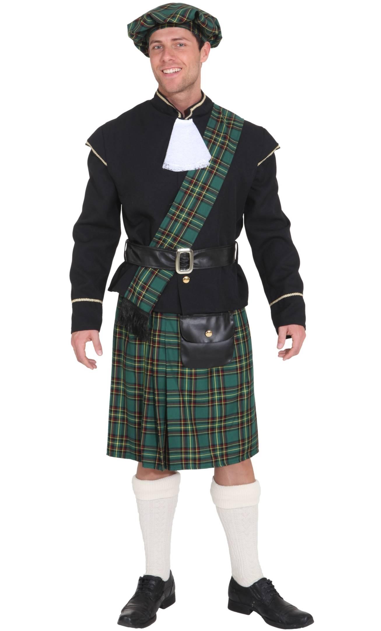Costume-écossais-vert