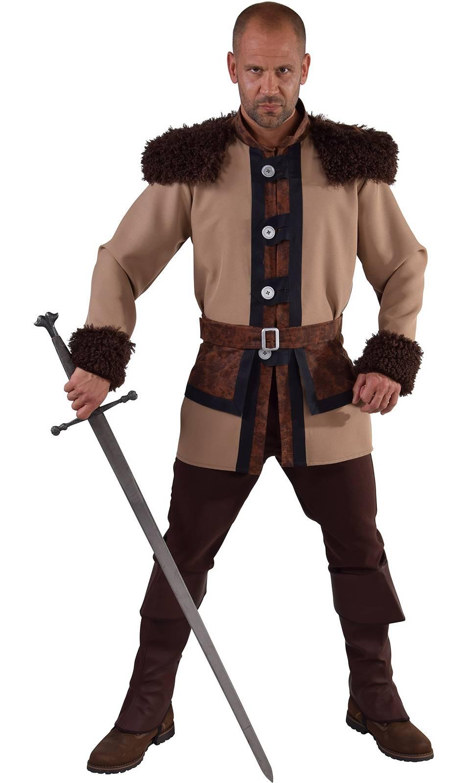 Costume de viking pour homme en grande taille