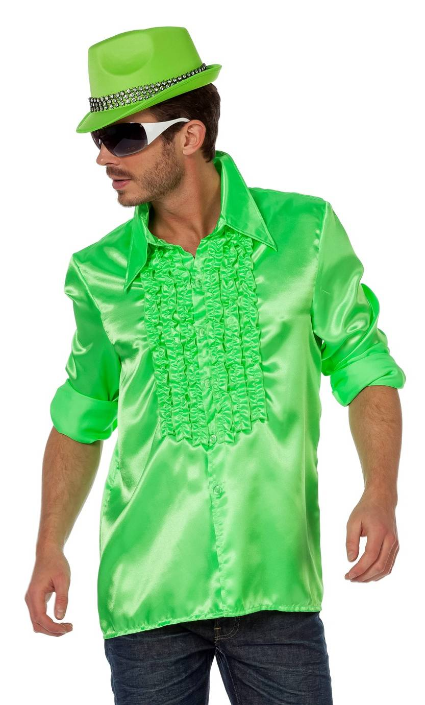 Chemise-Disco-homme-grande-Taille