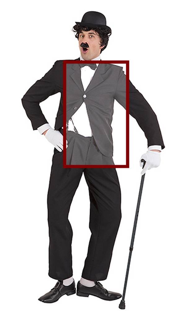 costume de charlot en grande taille homme w10113. Black Bedroom Furniture Sets. Home Design Ideas