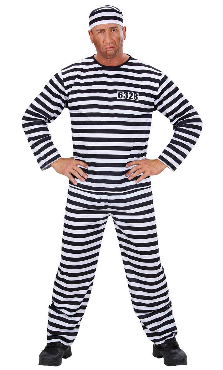 Déguisement-de-Prisonnier-Grande-Taille-XL