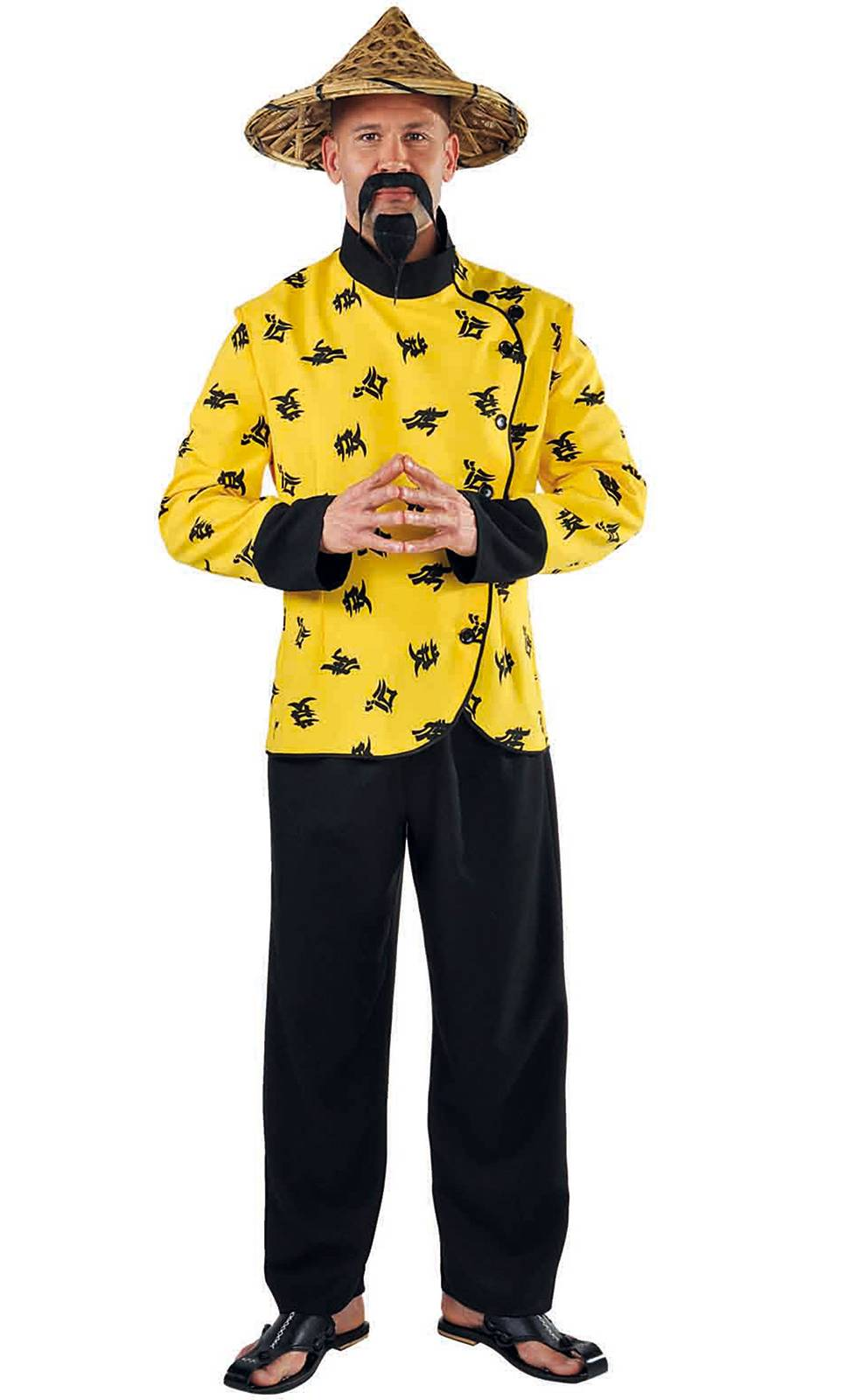 Costume chinois homme grande taille