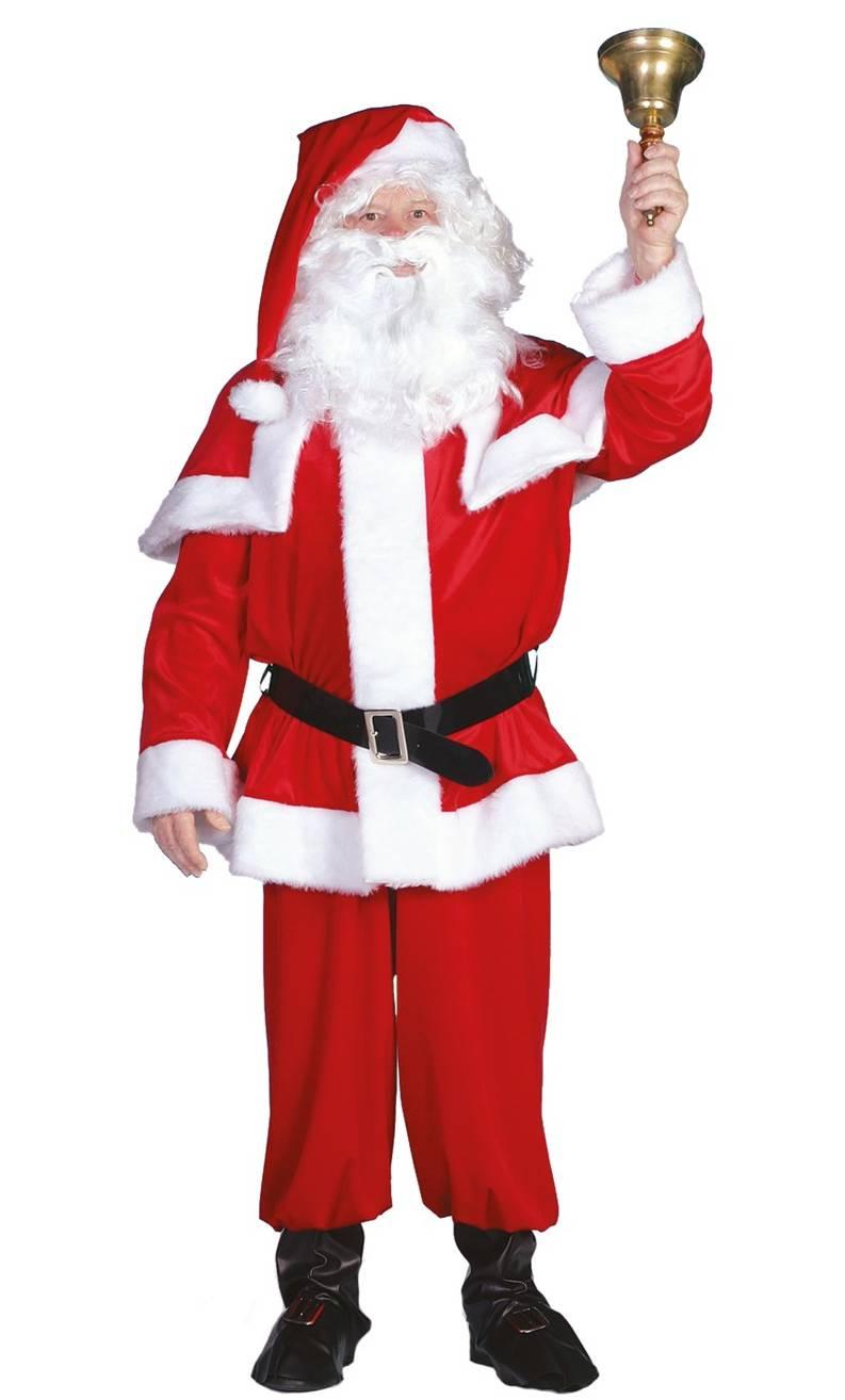 Costume-de-Père-Noël-XXL-en-Velours
