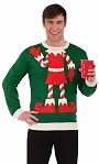 Pull-Lutin-Noël-kitsch