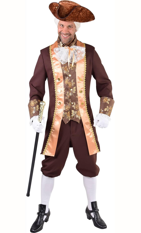 Costume de marquis homme en grande taille