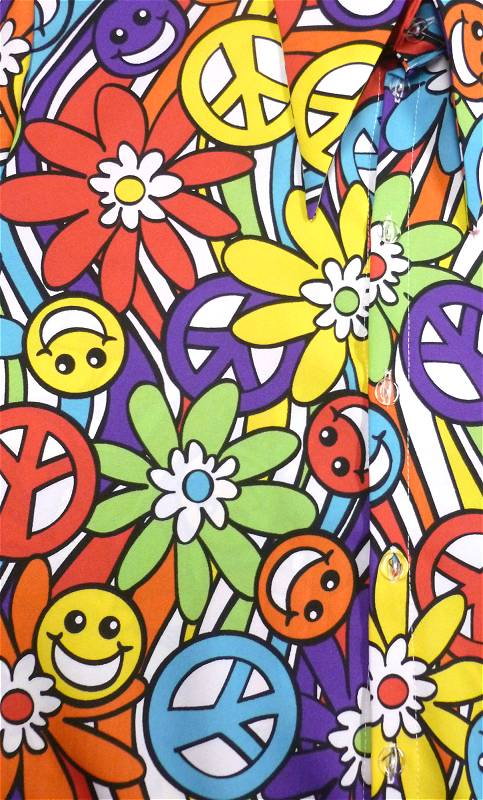 Chemise-Hippie-Fleurs-grande-taille-2