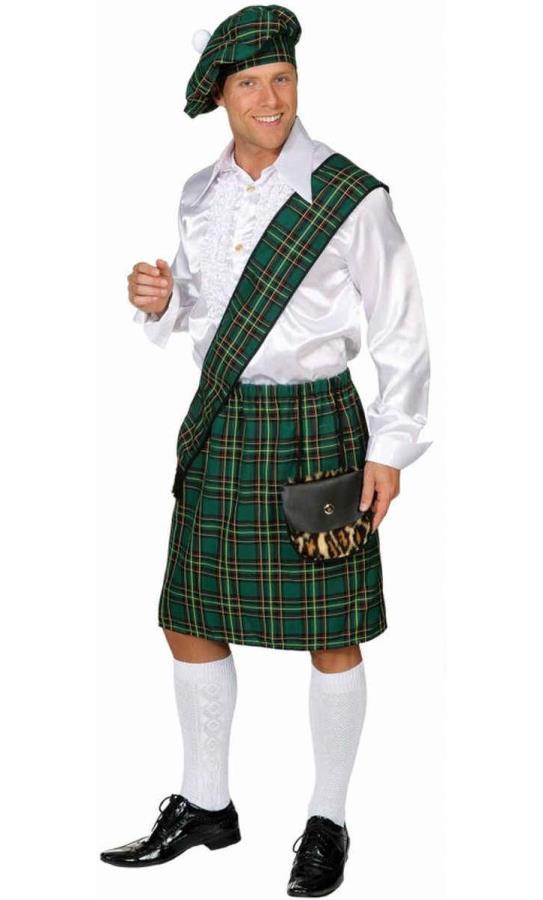Kilt-ecossais-vert