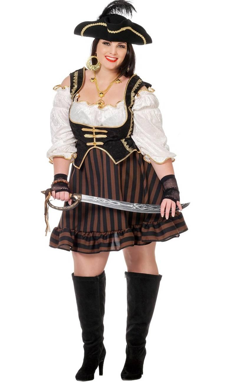 Costume-Pirate-Femme-XL-XXL