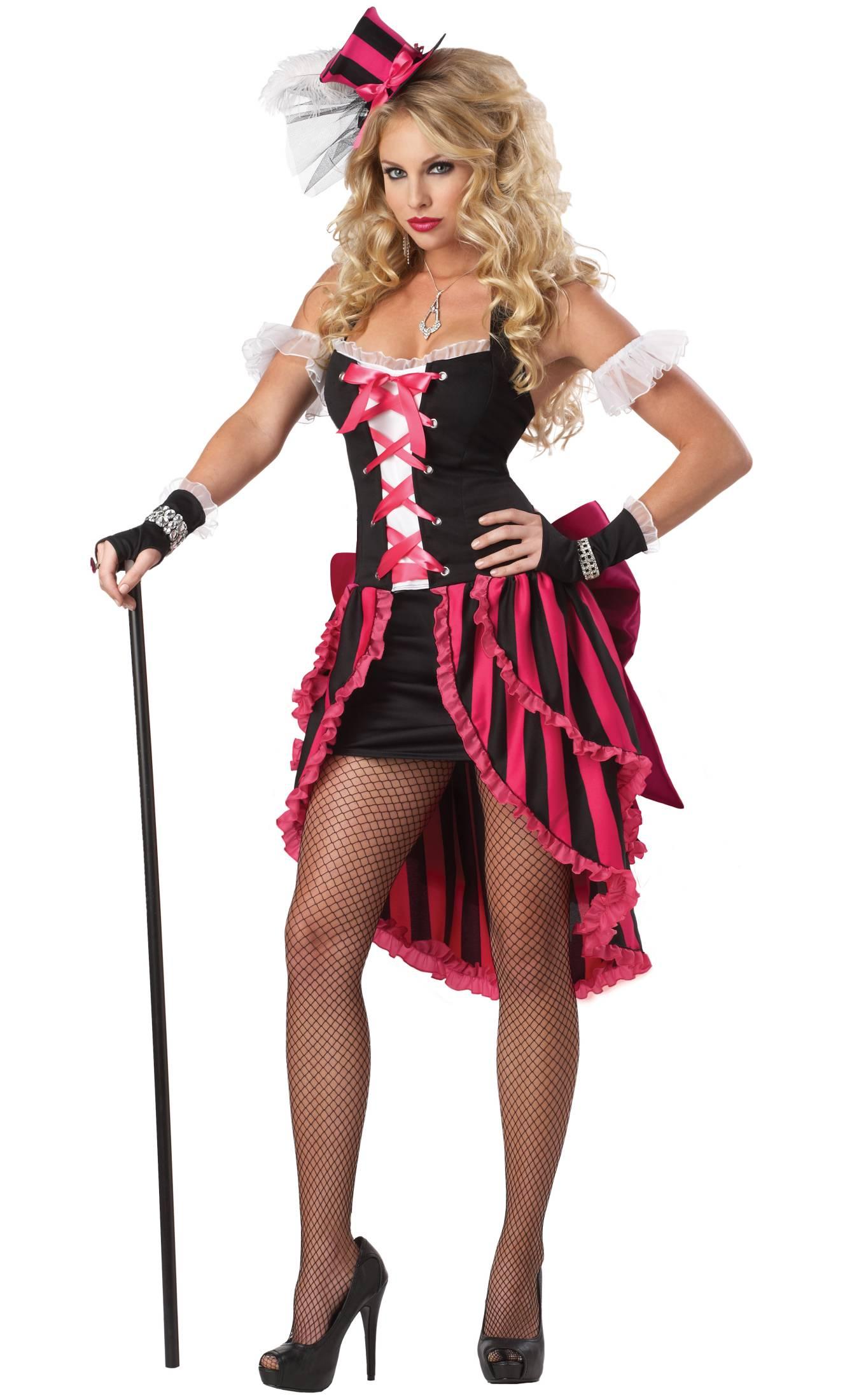 Costume cabaret burlesque femme